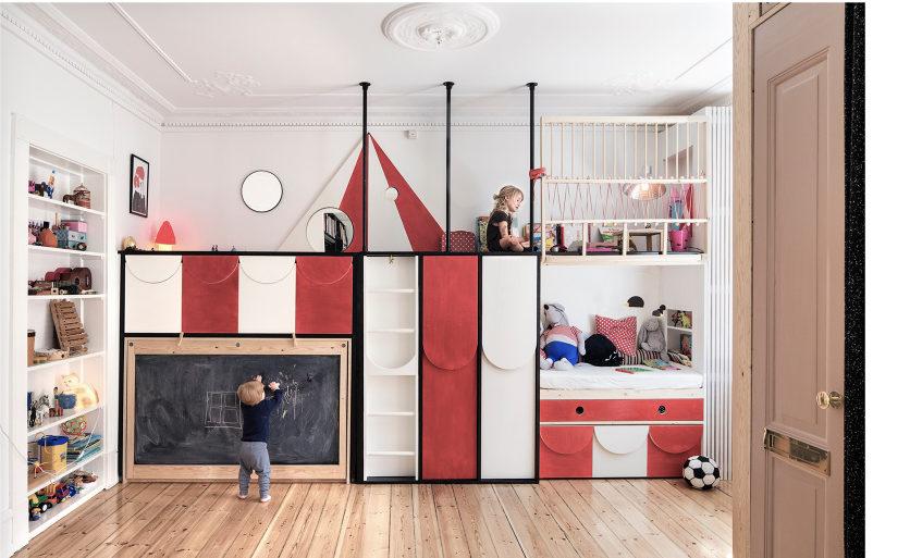 Vertikalnim povezivanjem dva stana spojena u jedan