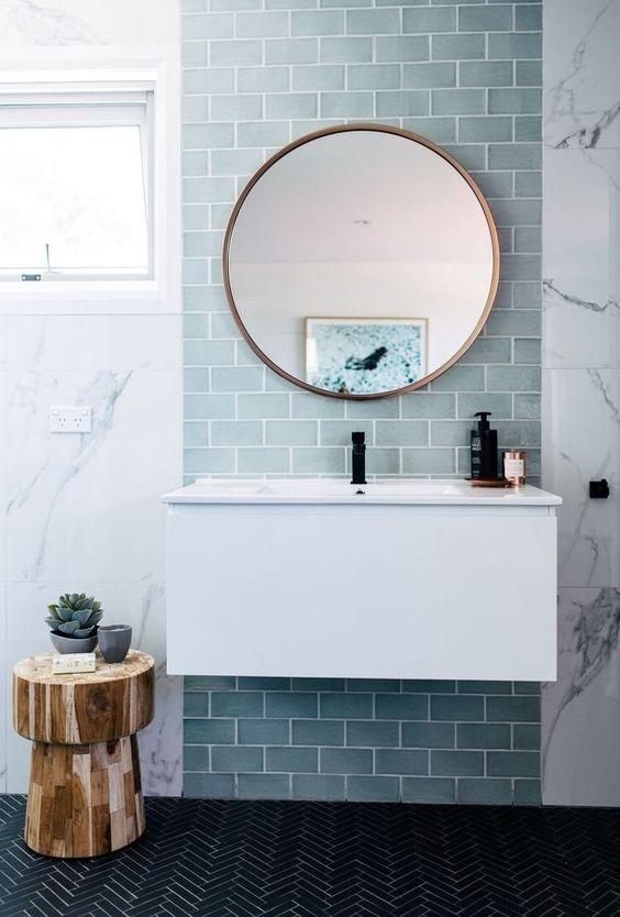 Nekoliko primjera kupaonica sa plavim bojama