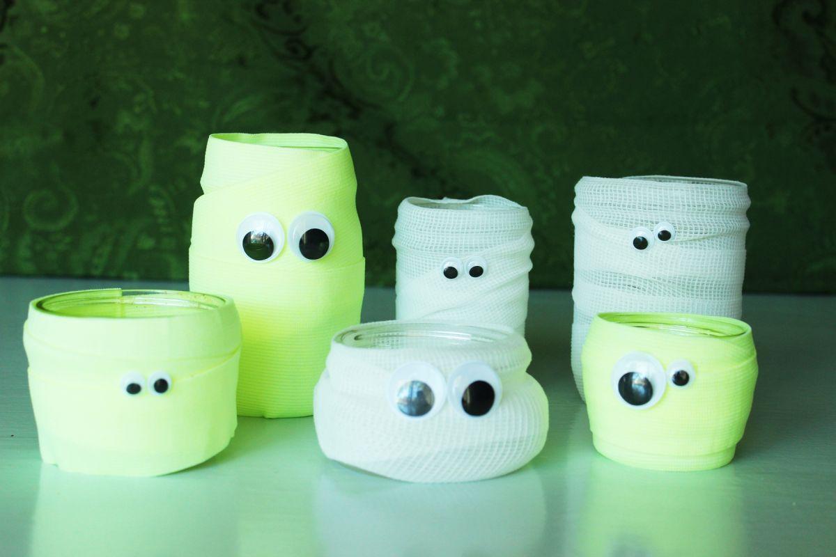 Bez obzira što mislite o Halloweenu, morate priznati da su ove staklenke zombiji baš fora