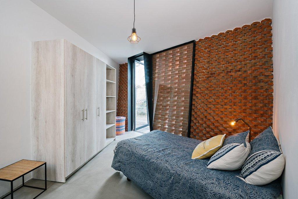 Zidovi od klasične pune opeke zidani na neklasičan način