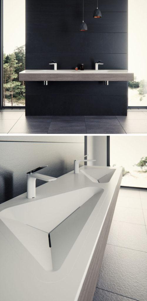 Urbani kupaonski umivaonik Monolit