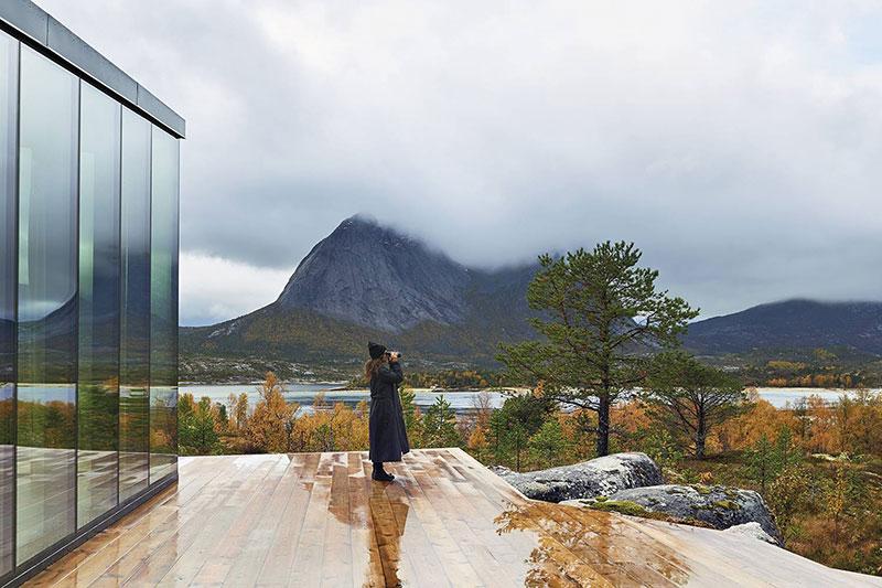 Atraktivna kuća sa pogledom na fjord