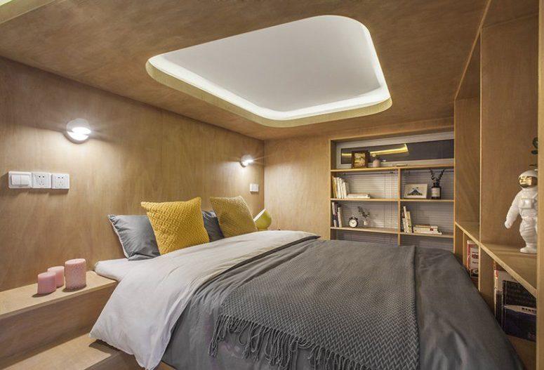 Svemirska kapsula u stanu od 48 kvadrata
