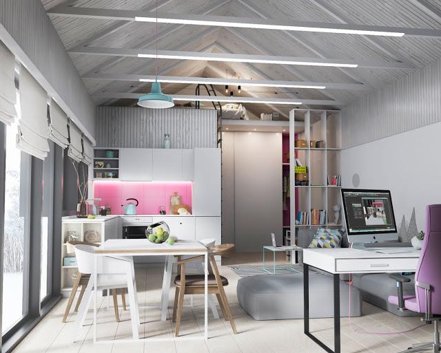 Maštovito uređenje interijera kuće od 83 m2