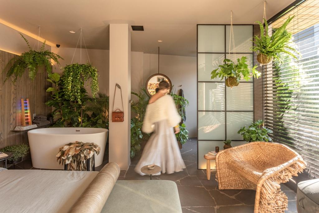 Studio apartman ispunjen zelenilom