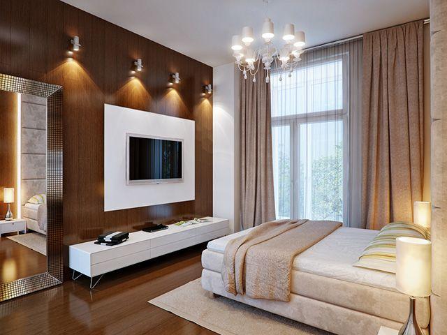 Ideje za uređenje smeđe spavaće sobe