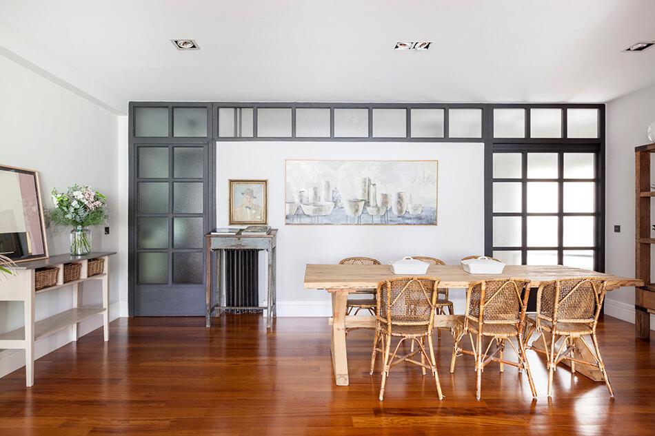 Madridski stan uređen u rustikalnom stilu