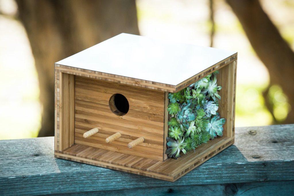 kućice za ptice inspirirane arhitekturom