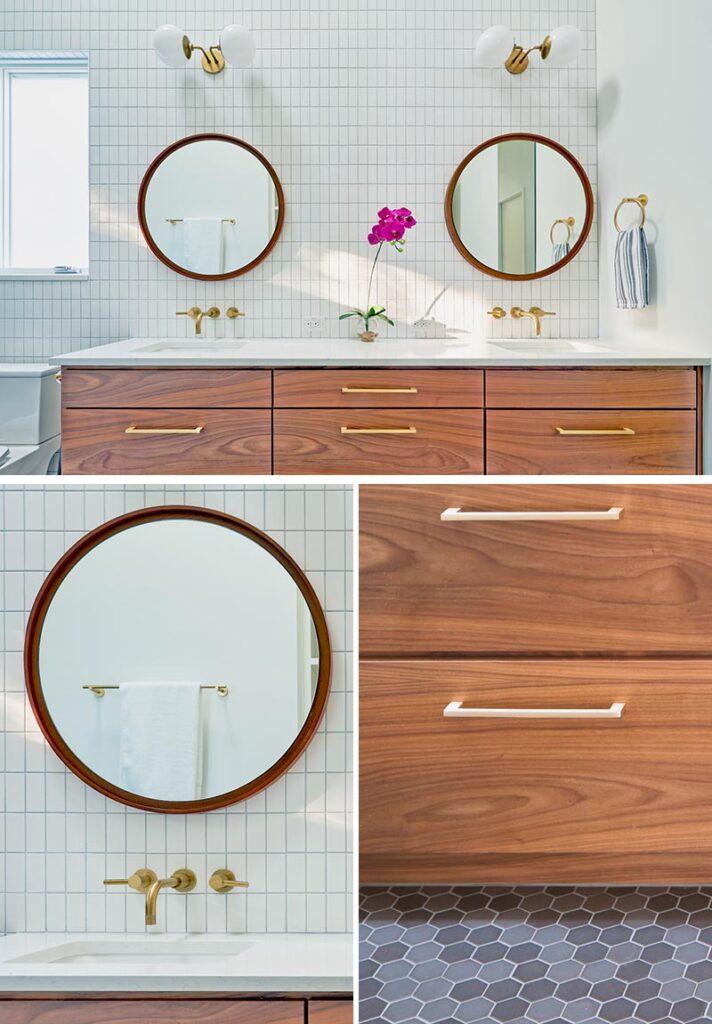 kupaonica sa zlatnim detaljima