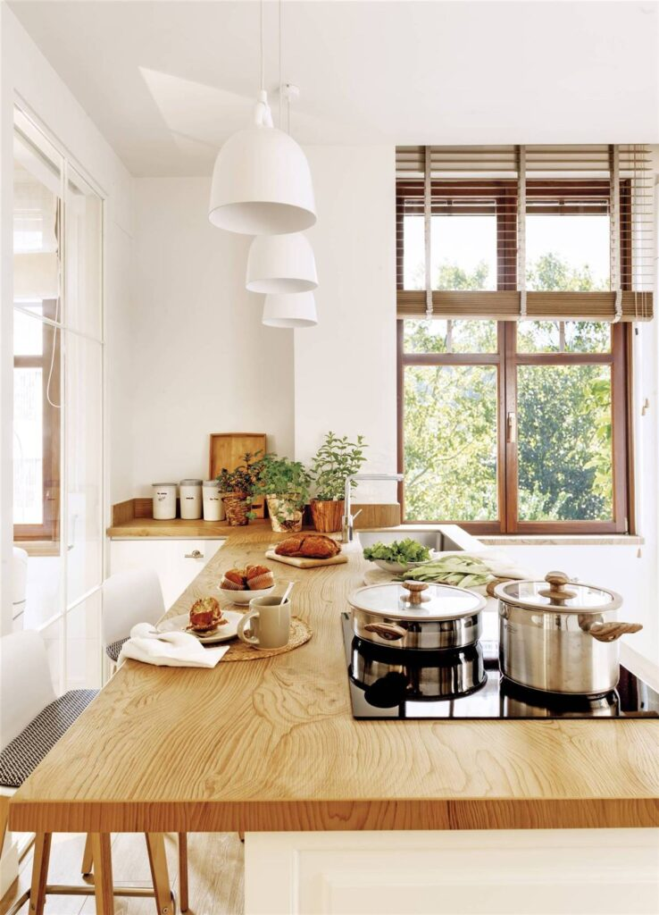 Ideje za uređenje kuhinje do 10 m2 [sa tlocrtom]