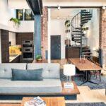 Tvornički prostor preuređen u privlačan stan